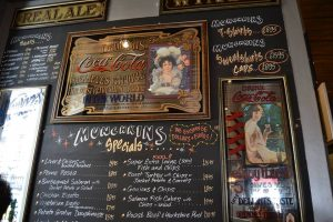 Munchkins menu