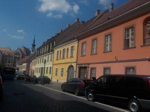 maisons colorées - Budapest