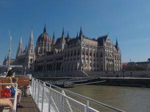 Le Parlement vue depuis le bateau mouche