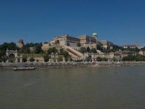 Vue depuis le bateau mouche - Budapest