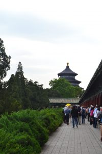 En direction du Temple of Heaven