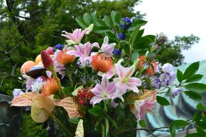 The Great Buddha - fleurs