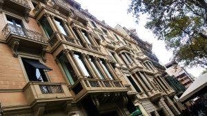 façade de Barcelone
