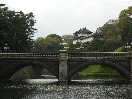Jardins du palais impérial de Tokyo : pont