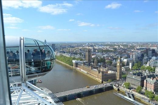 Vue depuis la London Eye