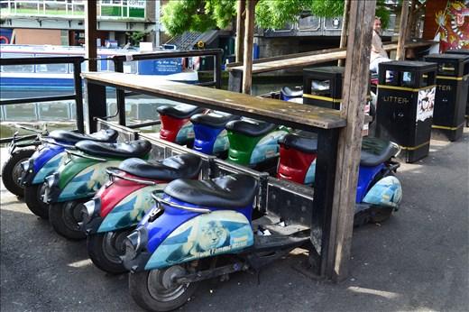 Camdem Market : scouteurs de couleurs