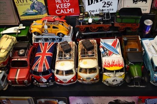 Camdem Market : mini van