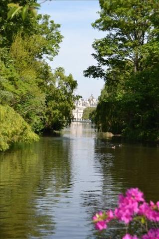 Jardins de Buckingham Palace