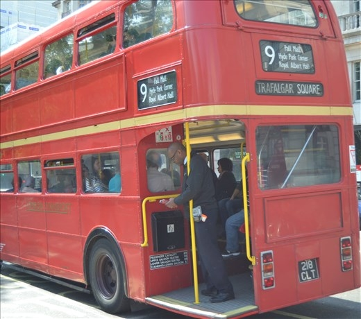 Bus typique londonien