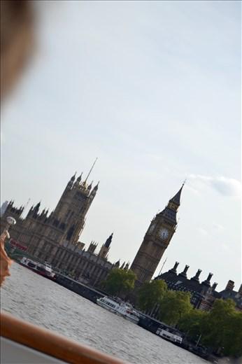 Big Ben - vue depuis le bateau mouche