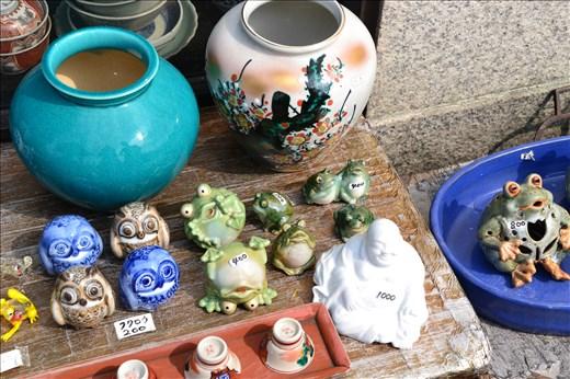 Stand de poterie