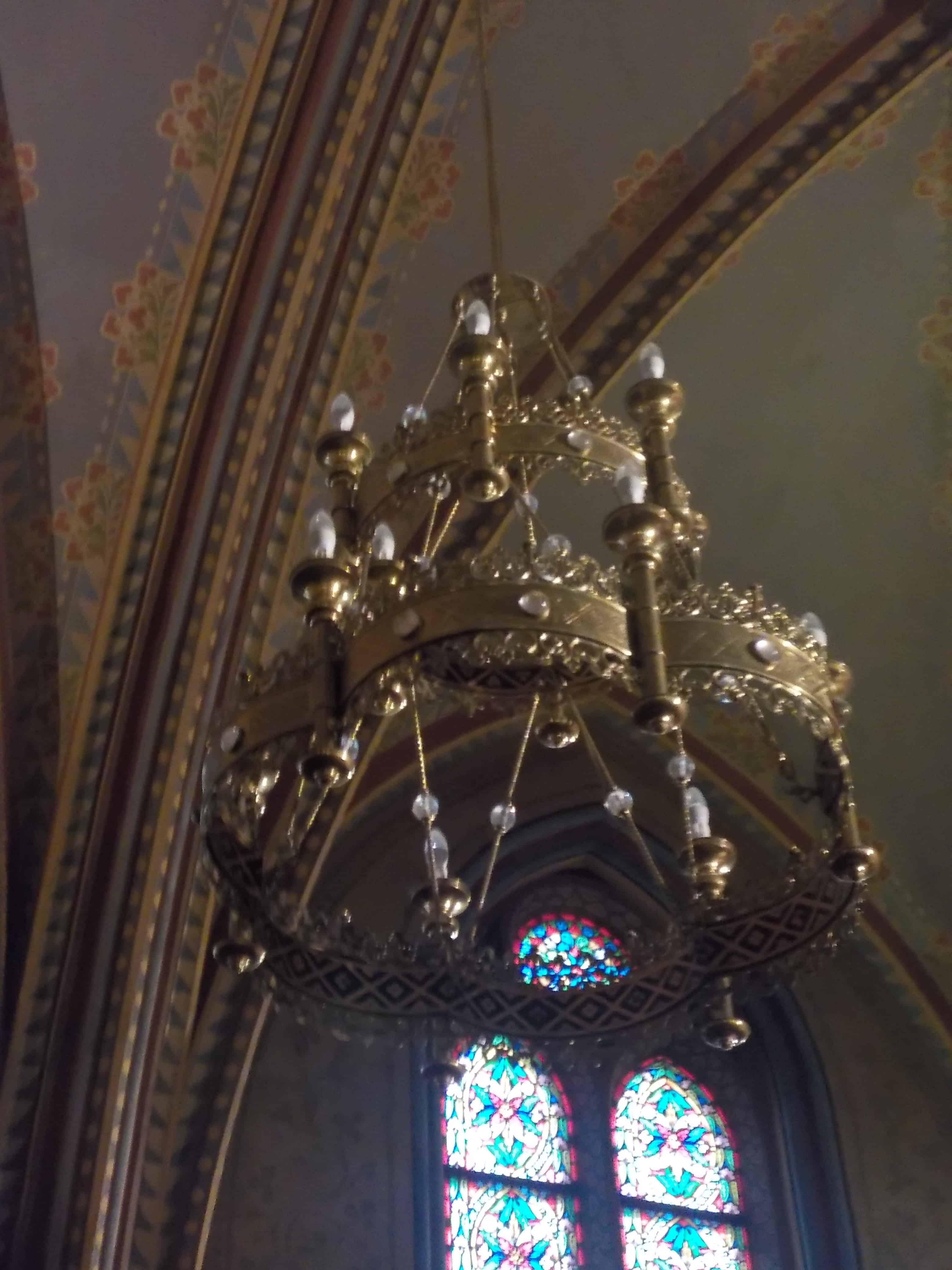 Eglise St Mathias : lustre