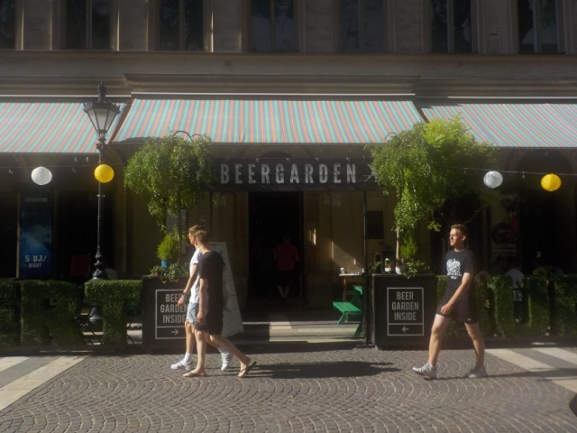 Dans les rues de Budapest