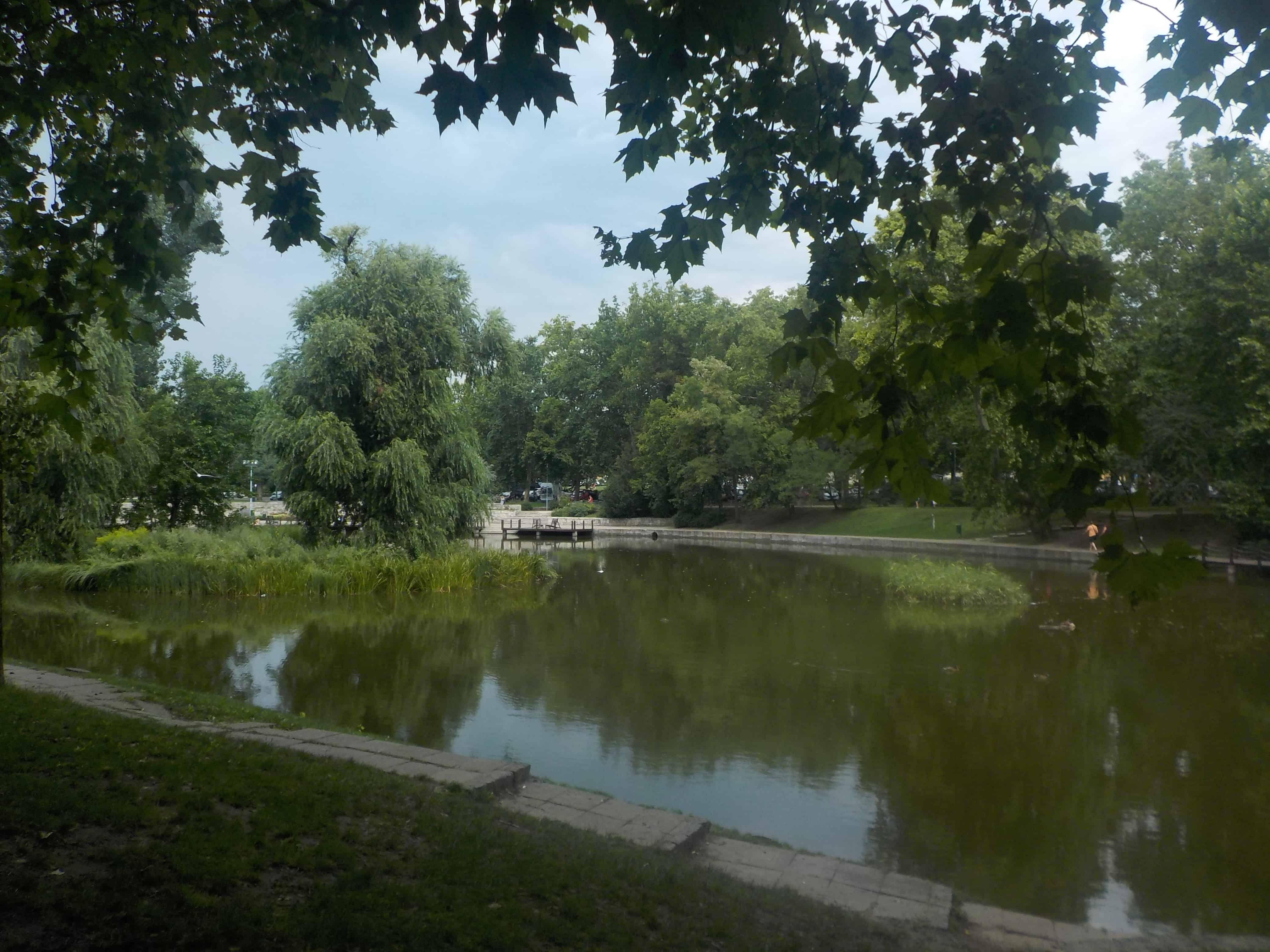 Jardin du château Vajdahunyad