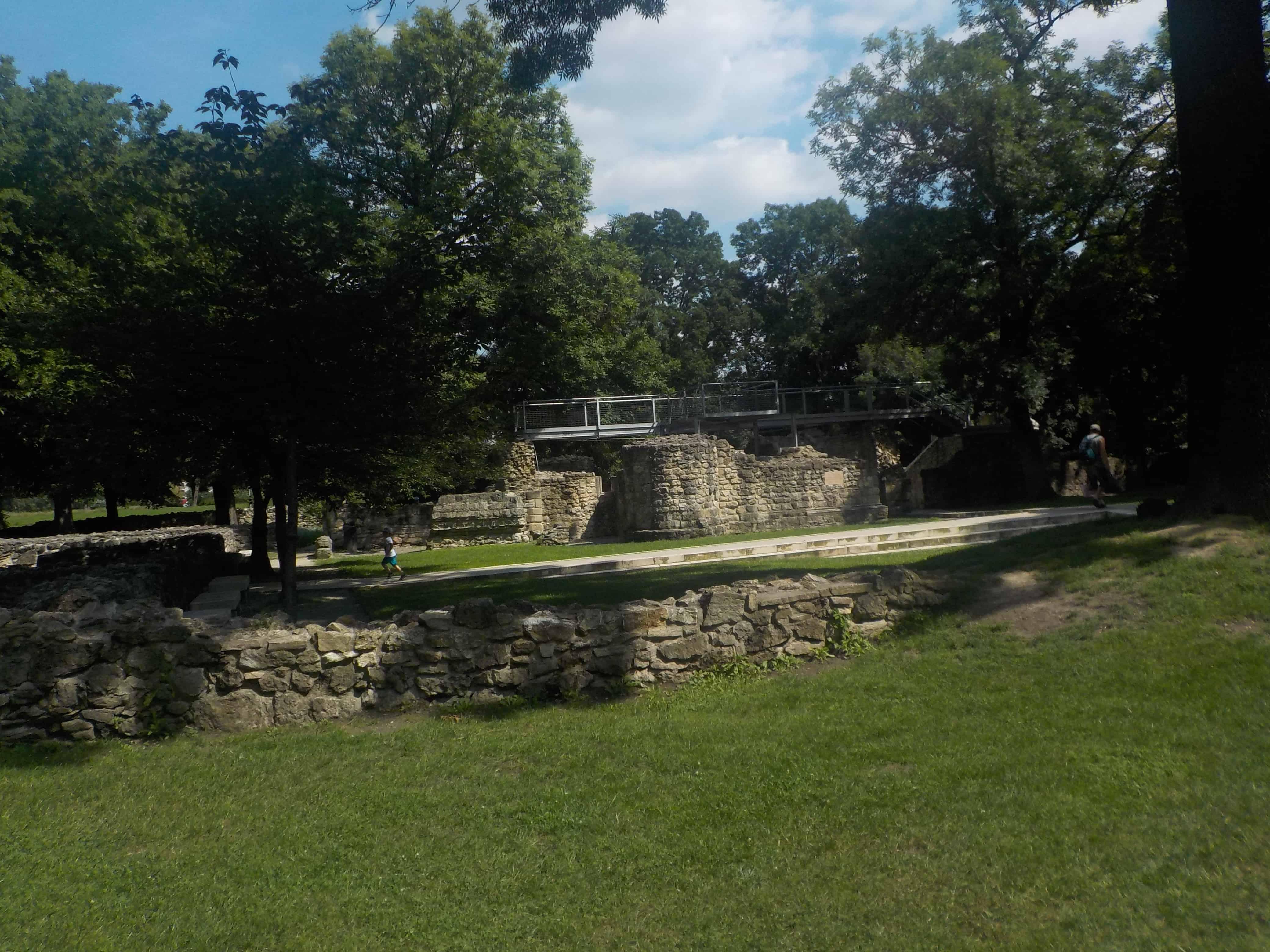 Ile de Margueritte : ruines