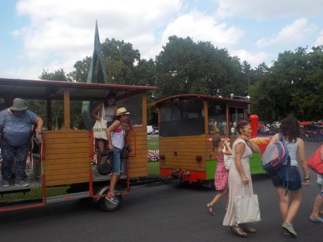 Ile de Margueritte : petit train