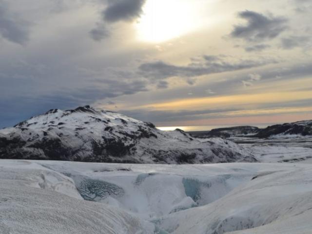 Glacier Myrdalsjokull