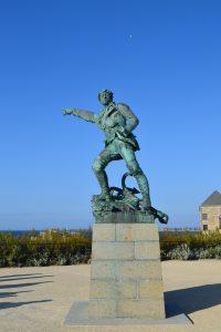 statue jacques Cartier