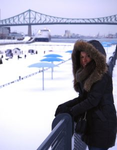 Jenny au Canada