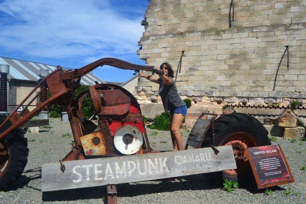 ville du steampunk