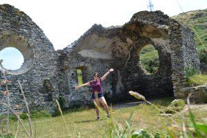 ruine d'une ancienne chapelle