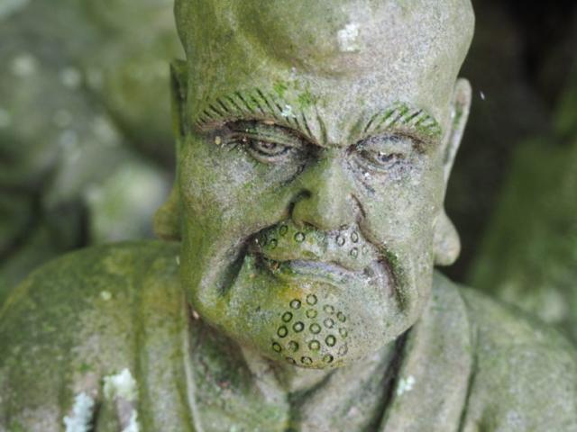 statue visage