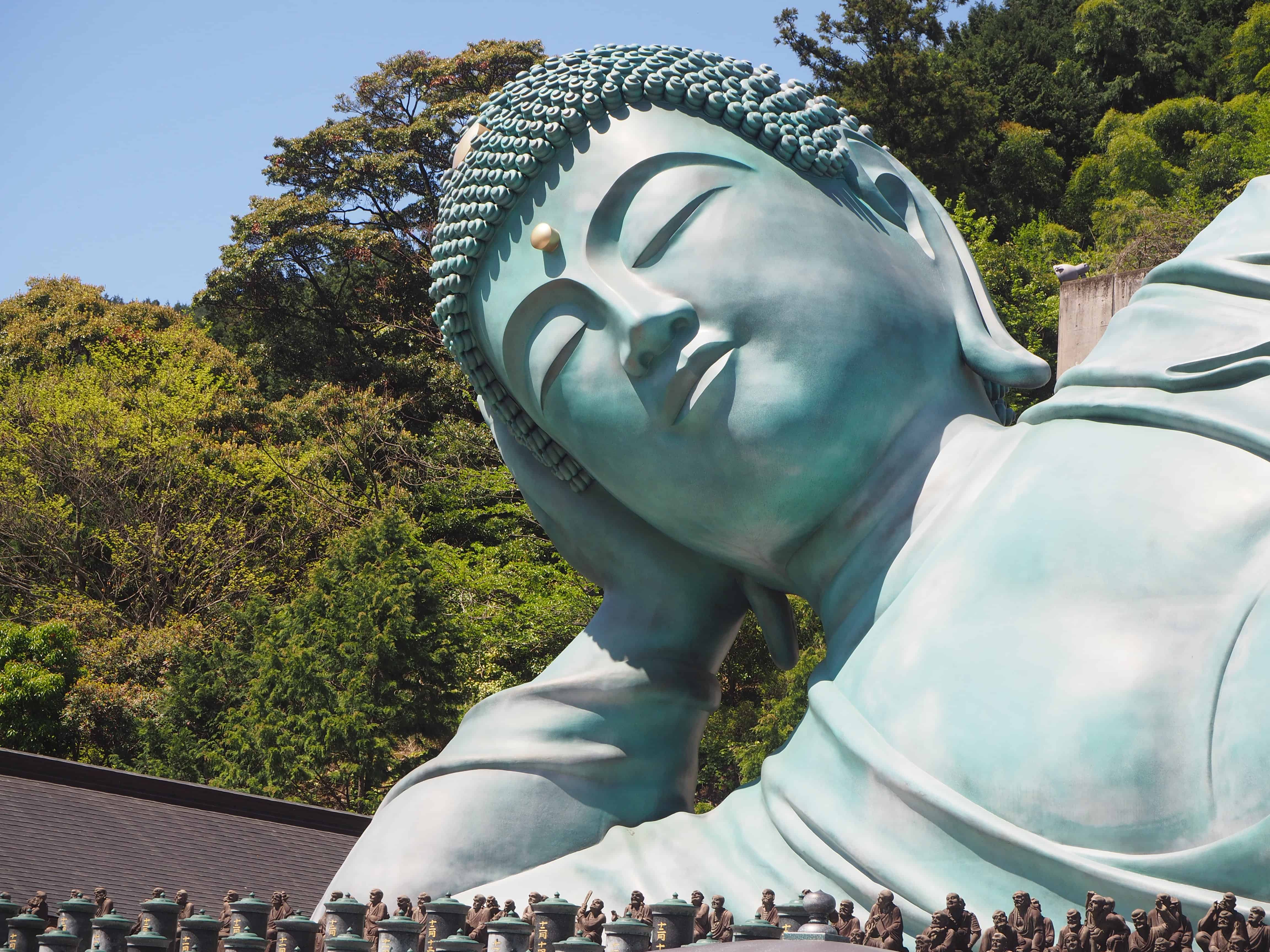 tête du bouddha