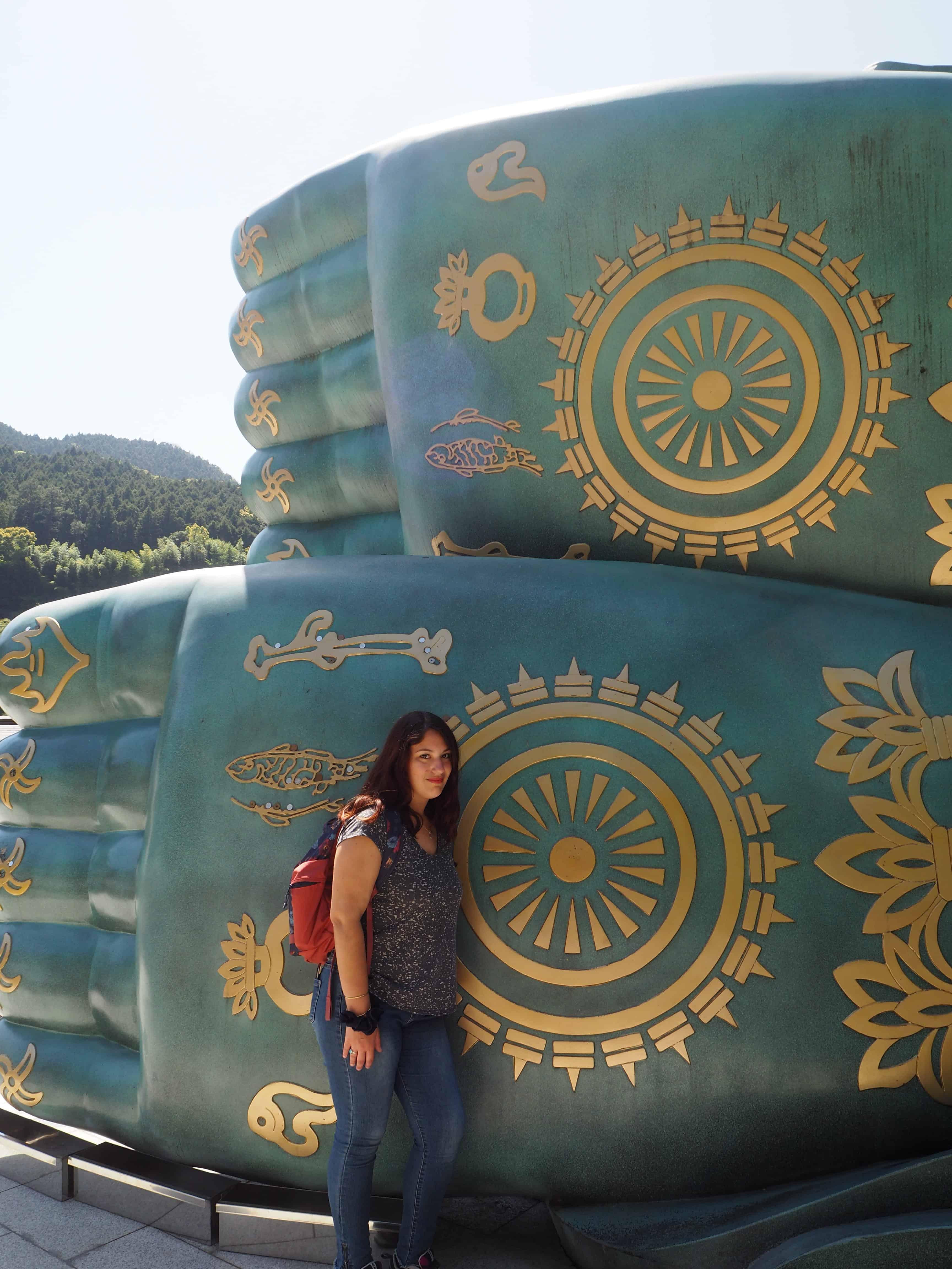 les pieds du bouddha version moi de 1m70