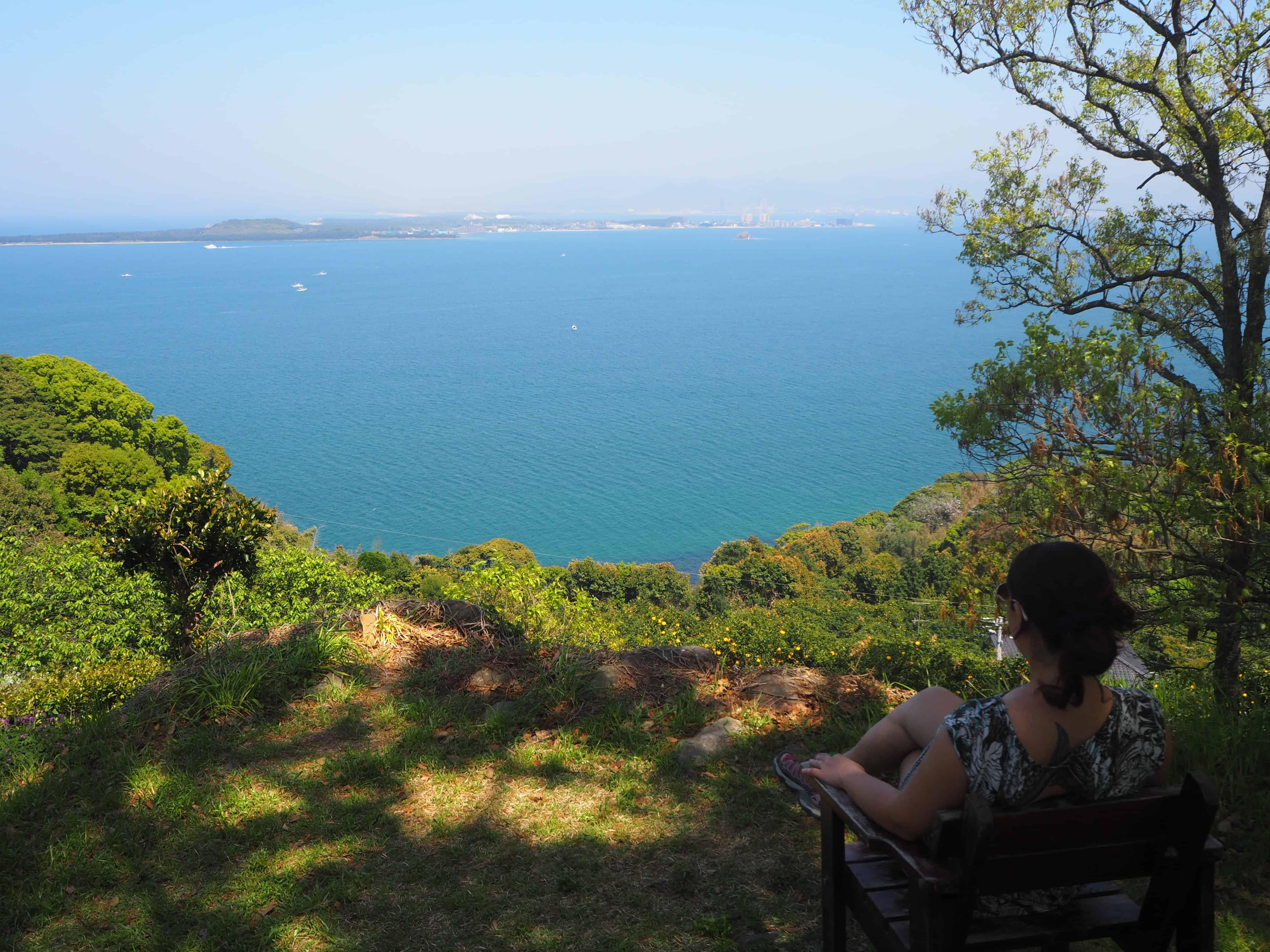 belle vue sur les autres îles
