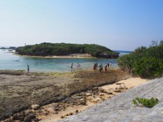 vue sur une petite île