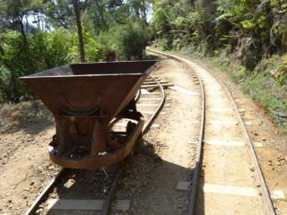wagon d'une ancienne mine