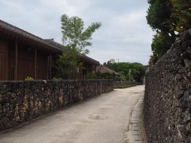 rue dans taketomi