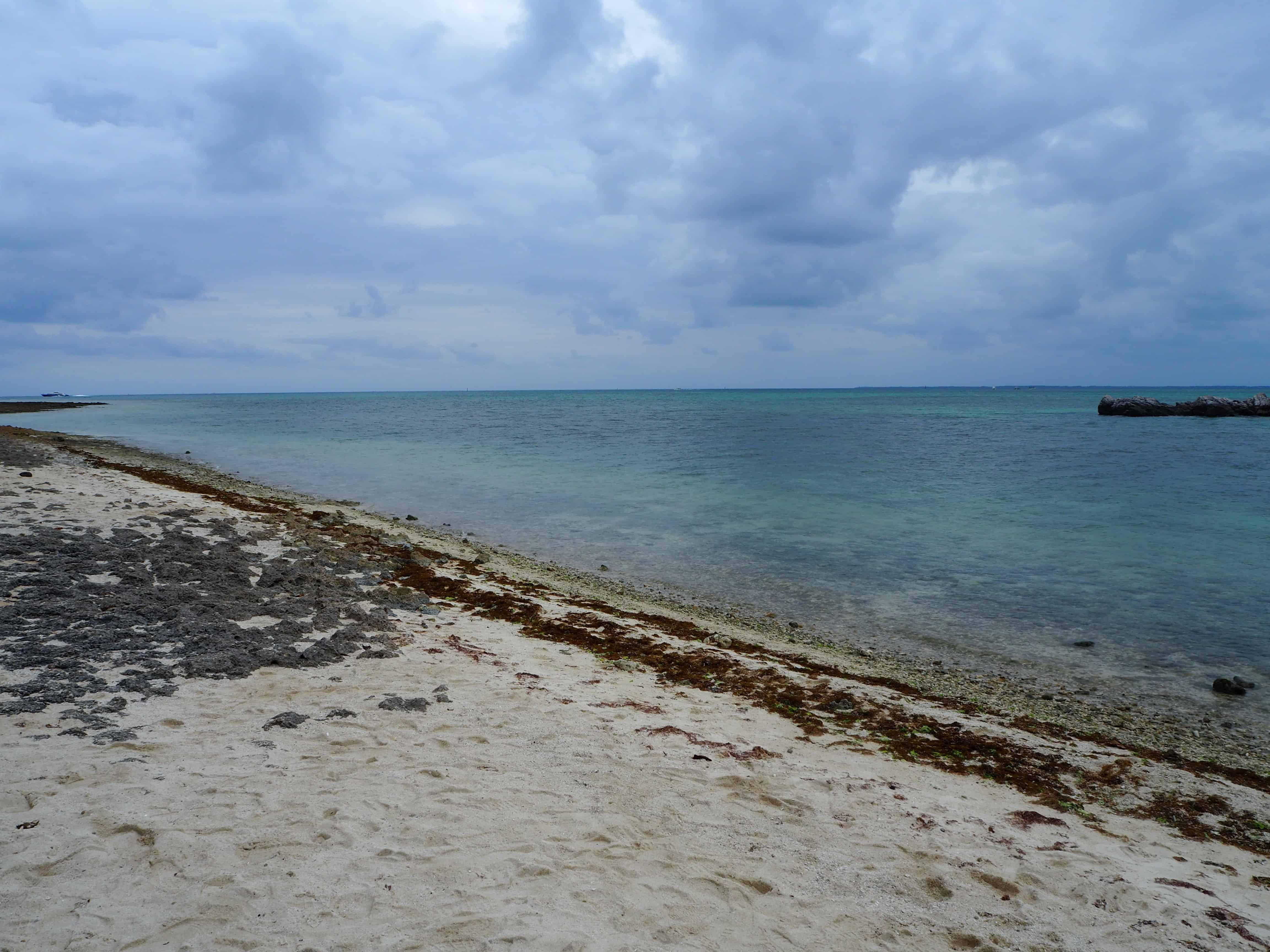 plage au sable étoilé