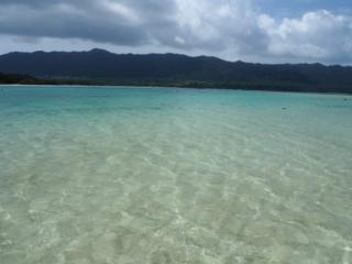 l'eau turquoise de Kabira