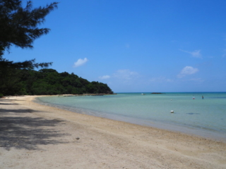 plage de sable fin