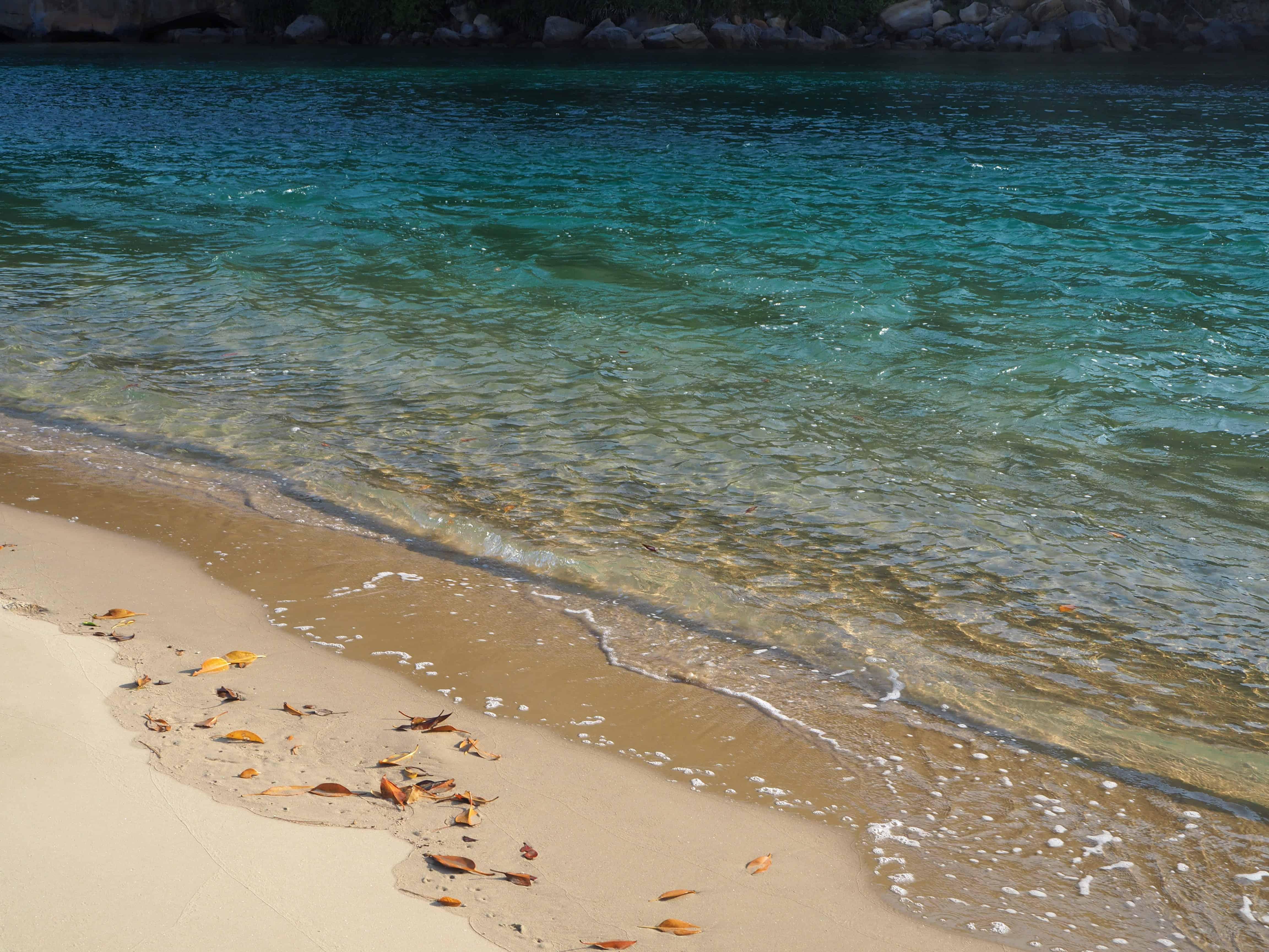 eau bleue turquoise