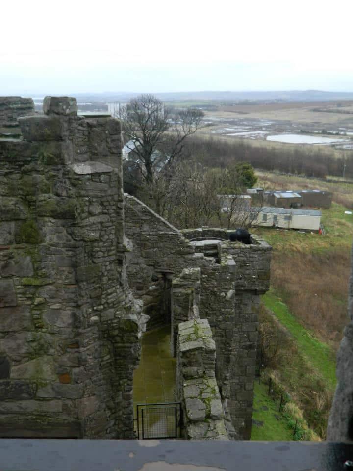 vue sur les ruines
