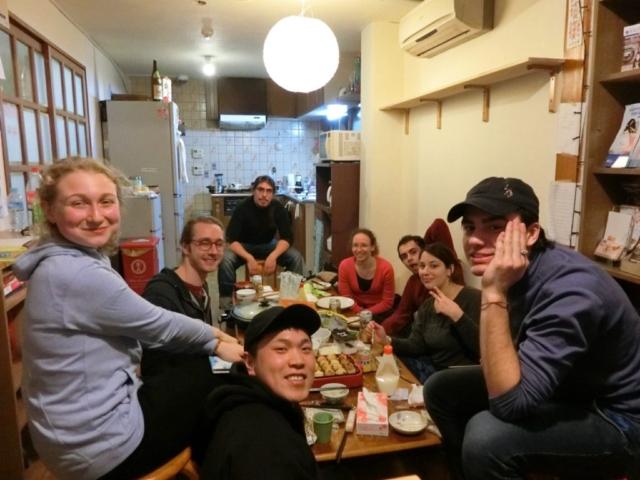 Staff et guest autour de la table