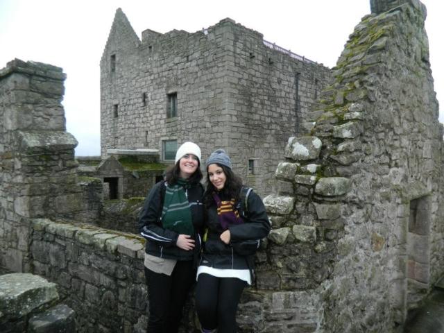 devant des ruines