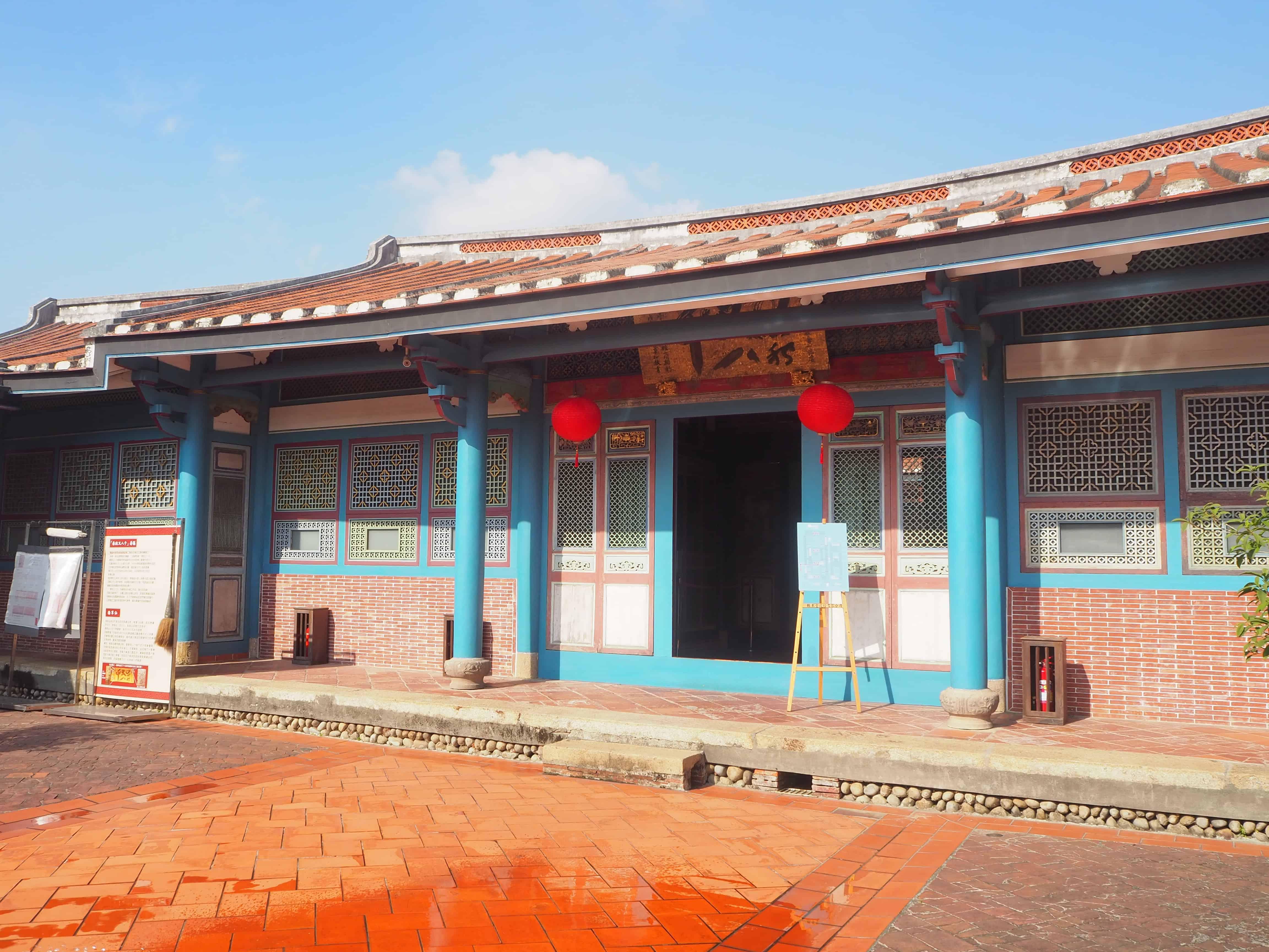 architecture particulière du temple
