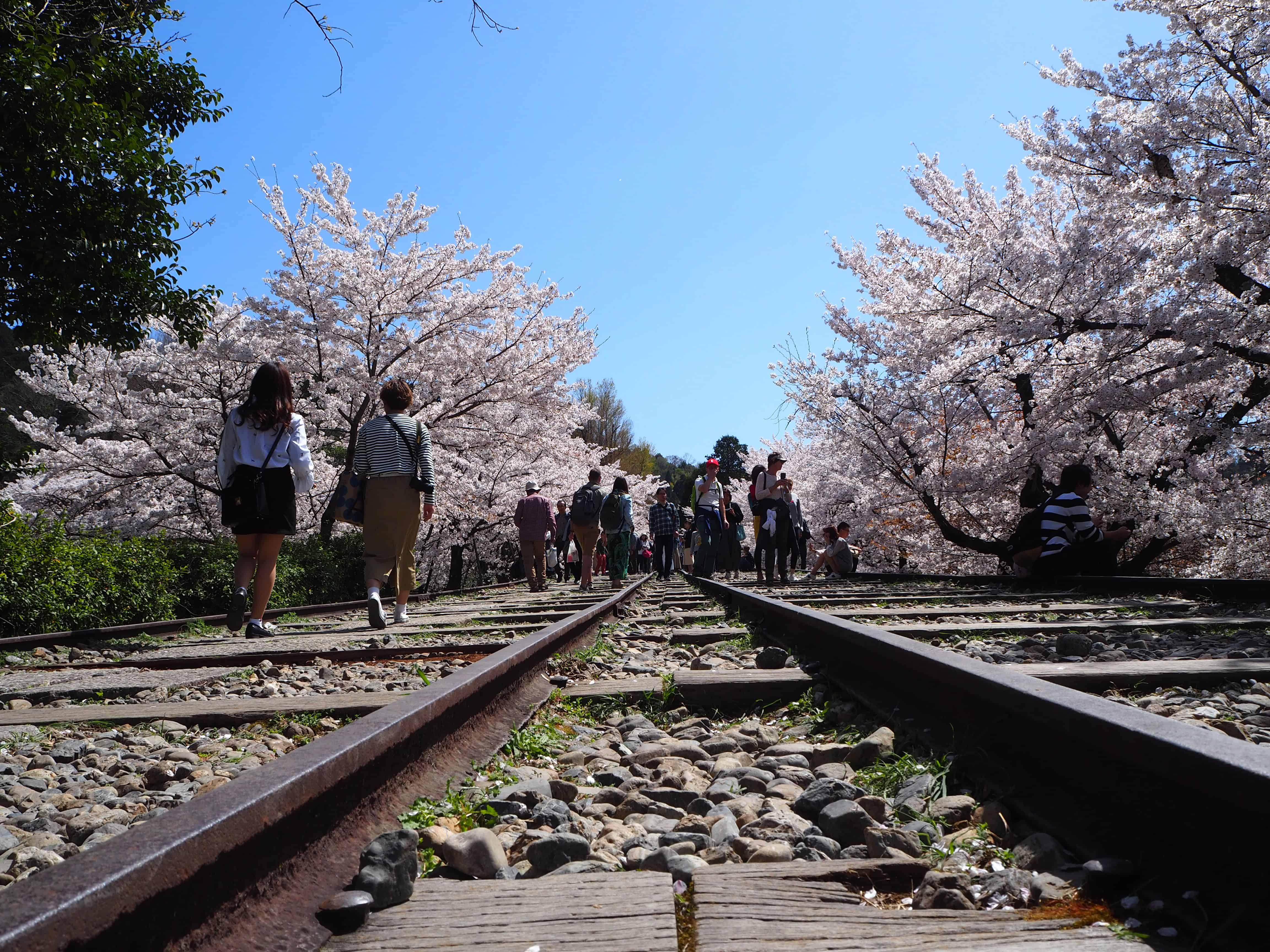 la voie ferrée sous un autre angle