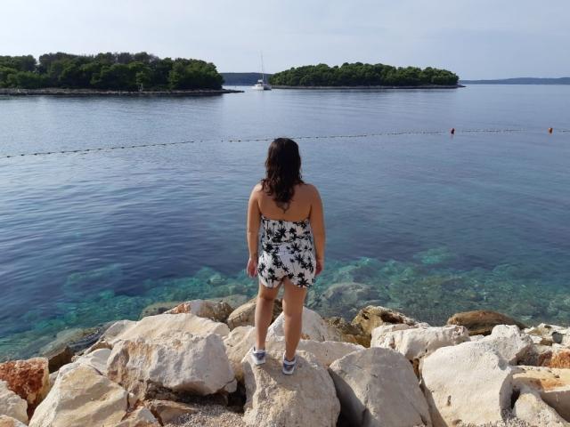 moi devant la mer