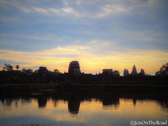 lever de soleil sur Angkor Wat