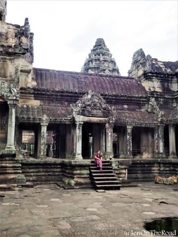 moi a Angkor Wat