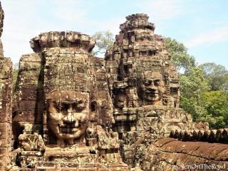 têtes de bouddha
