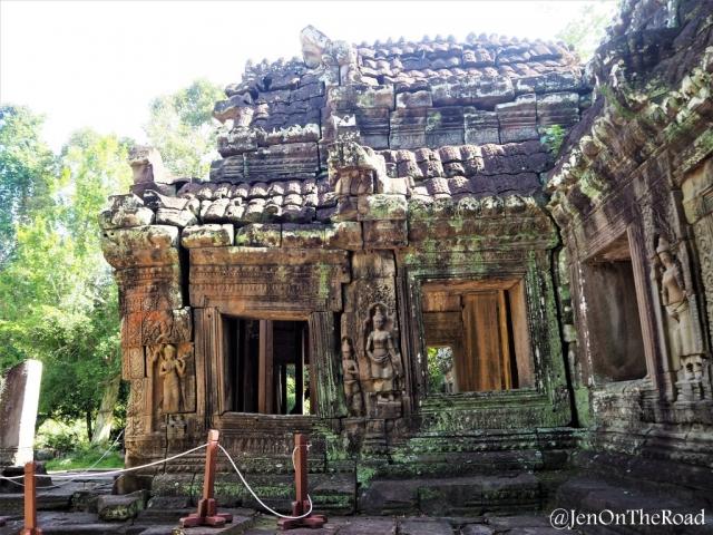 temples et statues