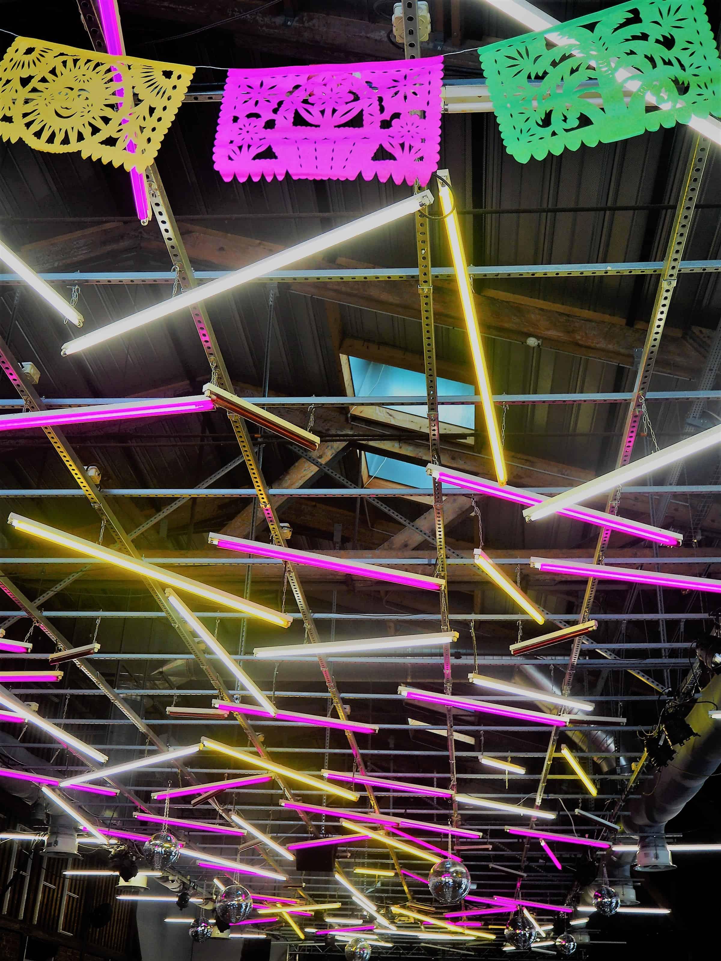 déco plafond Halle A