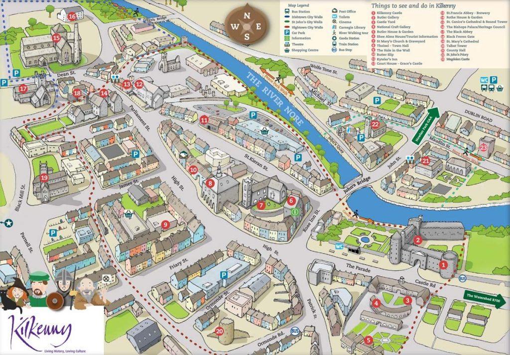 map centre ville